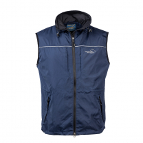 Jumper Vest Men Navy
