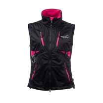 Acadia Softshell Vest Black/Pink Women