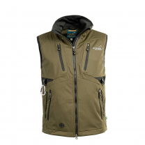 Acadia Softshell Vest Olive Men