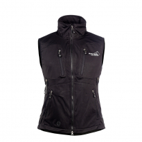Acadia Softshell Vest Black Women