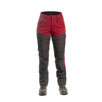 Hybrid Pants Women Red