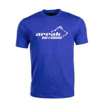 Arrak Bomulls T-shirt Royal Blå
