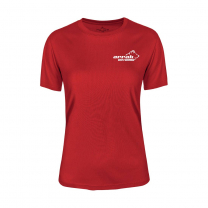 Pro 99 Funktions T-shirt Dam Röd | Arrak Outdoor