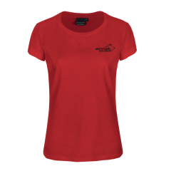 Pro 99 Bomulls T-shirt Dam Röd | Arrak Outdoor
