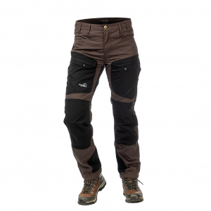 Active Stretch Pants Women Brown (Long)